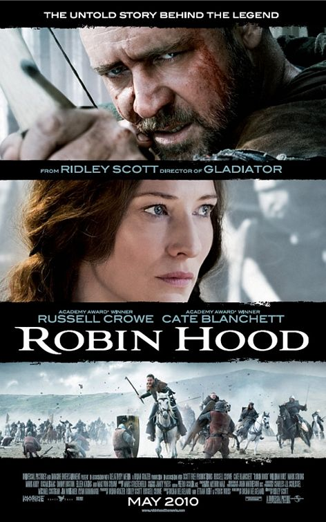 Robin Hood 2010 movie poster