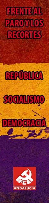 CARTEL DEL PCE SOBRE LOS RECORTES