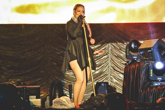 UPDATE!! Foto Konser Mariah Carey Di Kuala Lumpur 2014 Part 2