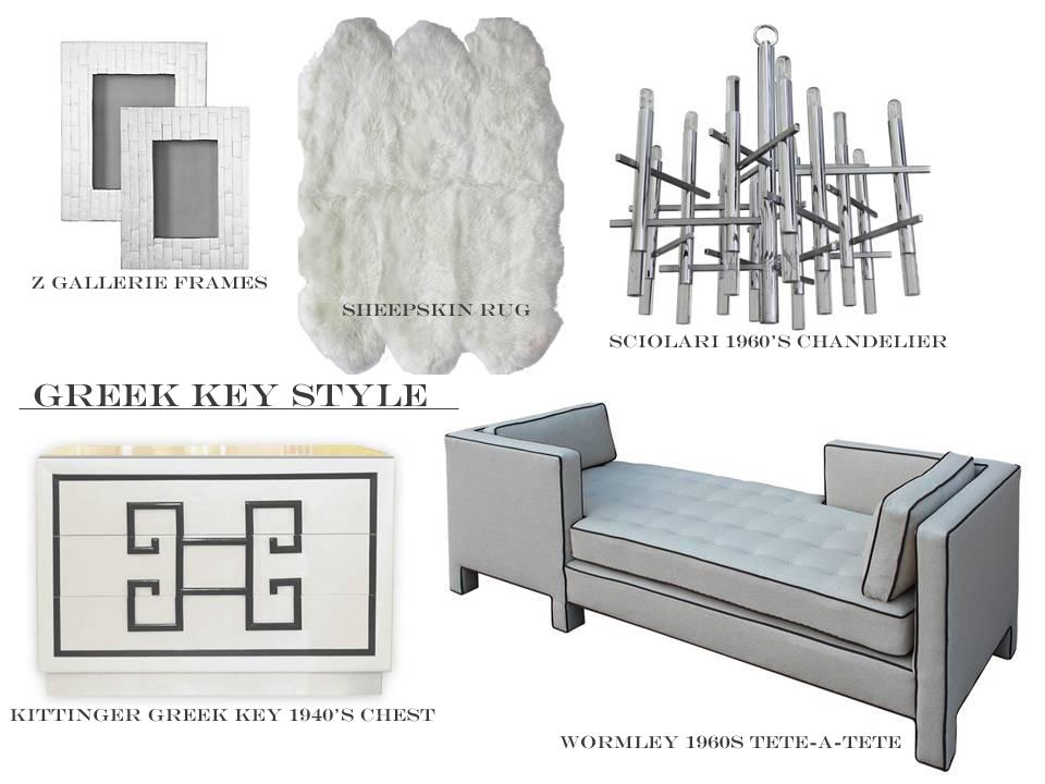 Vintage Furniture Vintage Designer Lighting Sheepskin Rug Grey Chrome