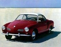 1. VW Karmann Ghia