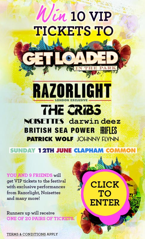 Get Loaded In The Park Ticket Giveaway