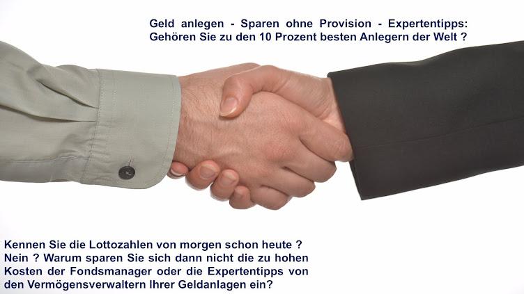 Finanzberatung ohne Provision