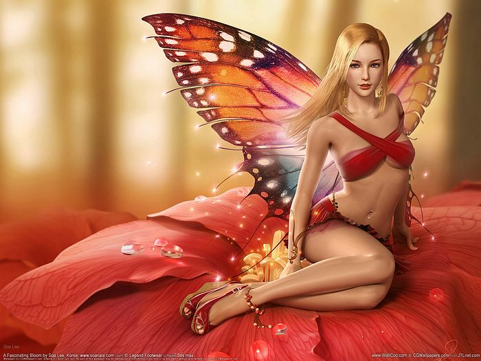 wallpaper cartoon 3d. 3d girl wallpapers