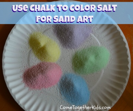 The Resulting Tinted Salt Is Perfect To Use For Any Kind Of Layered Sand Art Activities And It S Definitely Way Less Expensive Than Ing Several Bags