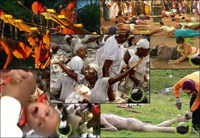 7 Tradisi Keagamaan Teraneh dan Terkejam di Dunia