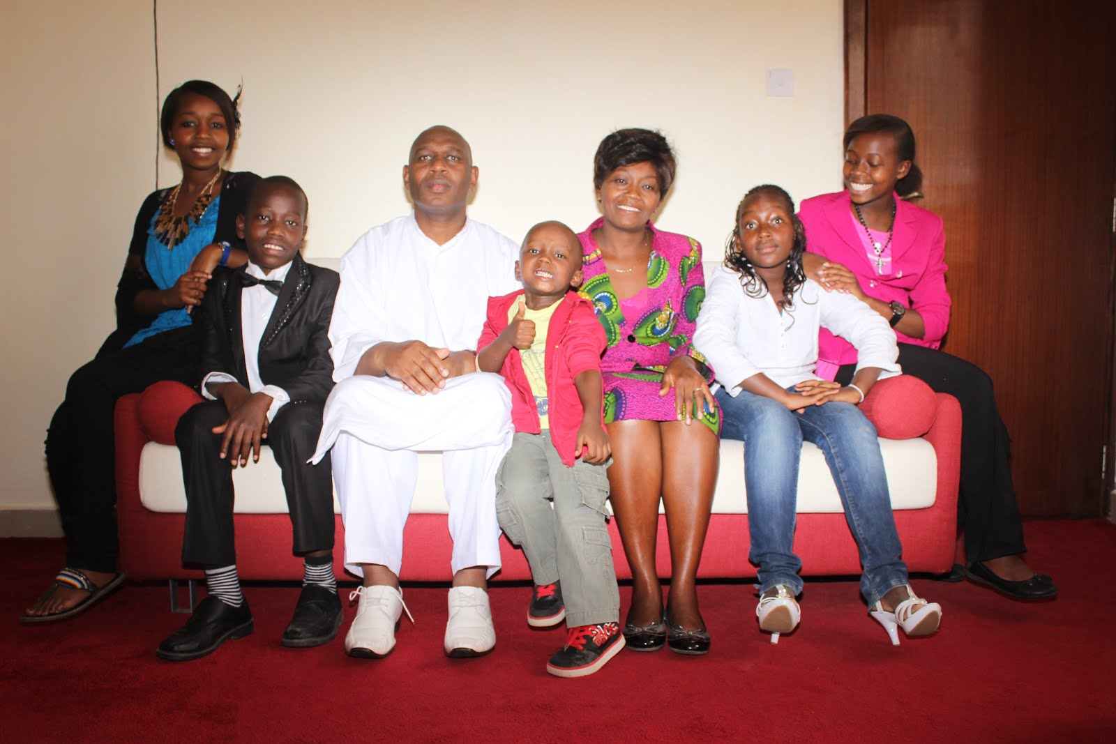 PASTOR AMANI & FAMILY