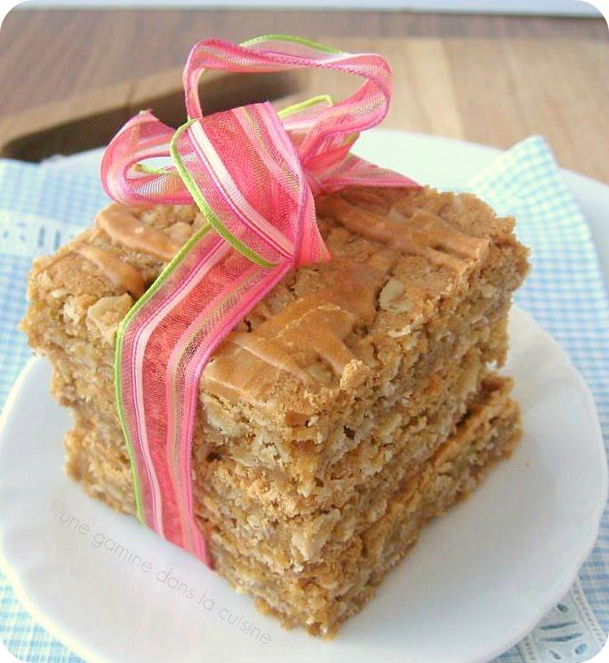 Une Gamine Dans La Cuisine: Butterscotch Oatmeal Bars
