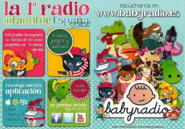 La radio de Babyradio con una programación completa para niños