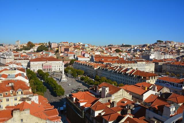 Santa Justa Elevator Lisbon views