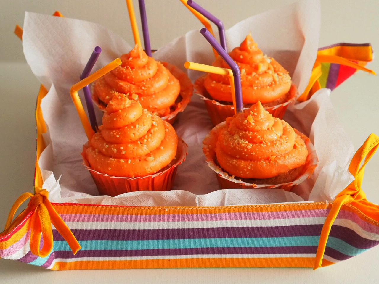 Cupcakes de Peta Zetas y Fanta