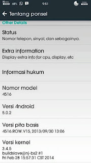 Custom Rom LOLLIPOP MIX for Lenovo A516