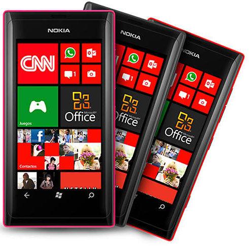 The Nokia Lumia 505