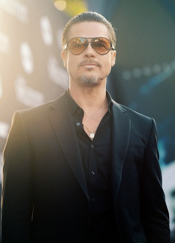 Brad Pitt in Gucci - World Premiere Of Disney's 'Maleficent'