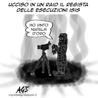ISIS,  vignetta , satira