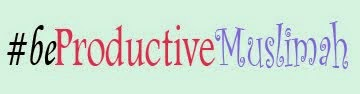Let's Be a Productive Muslimah