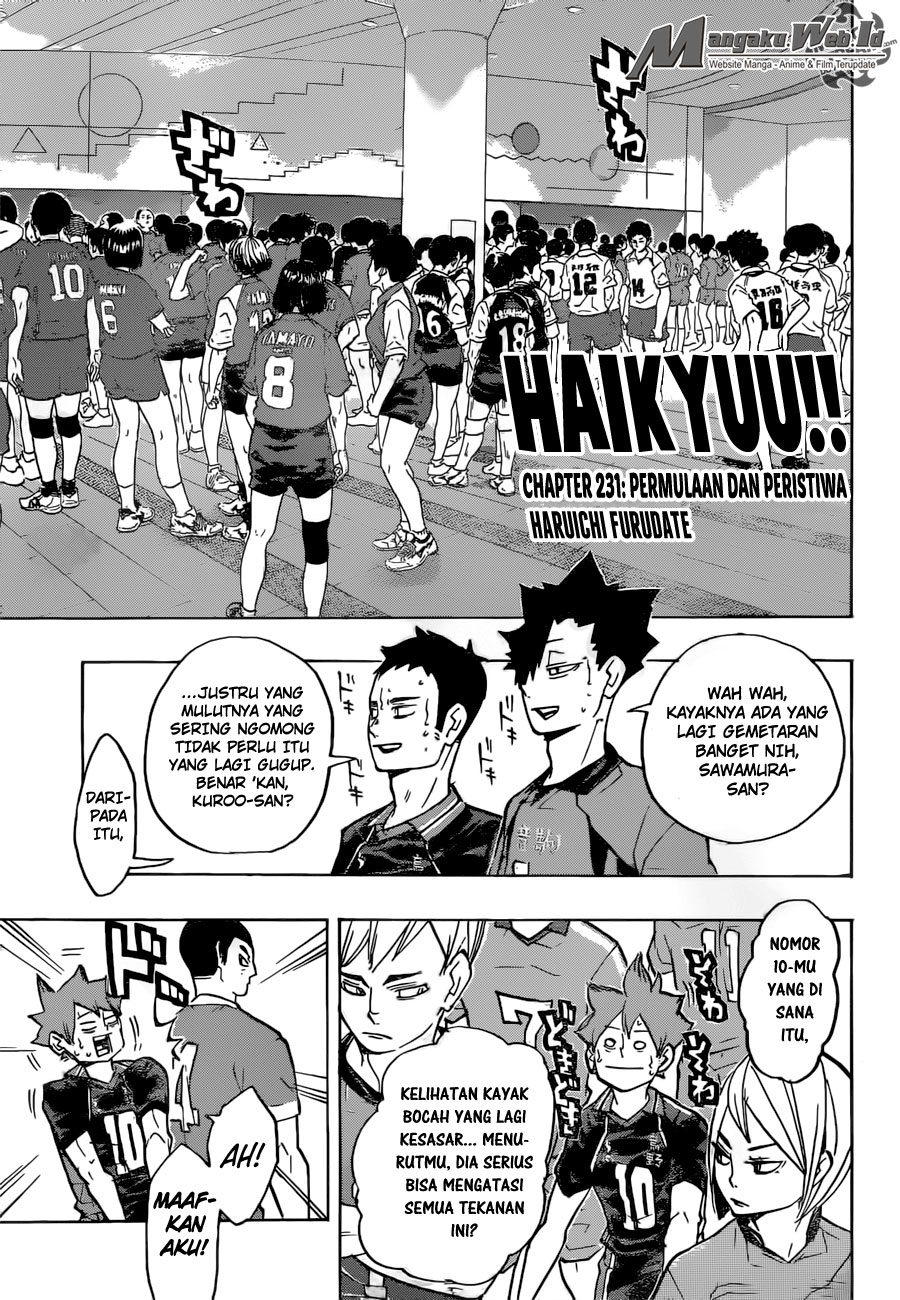 Haikyuu!! Chapter 231-1