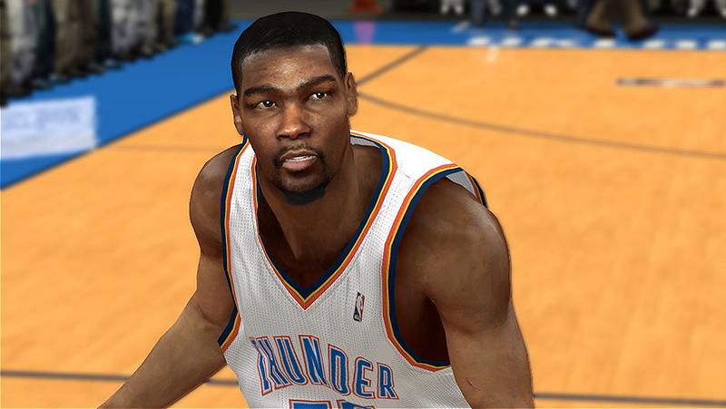 Oklahoma City Thunder Kevin Durant NBA2K14
