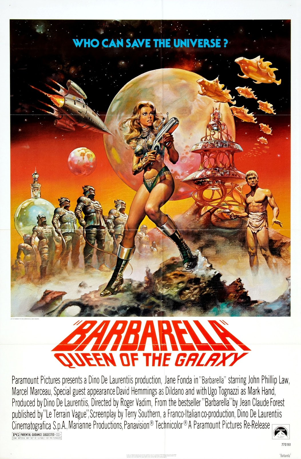 barbarella movie poster - photo #3