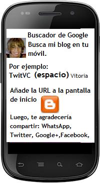 BUSCA TWITVC VITORIA EN TU MOVIL