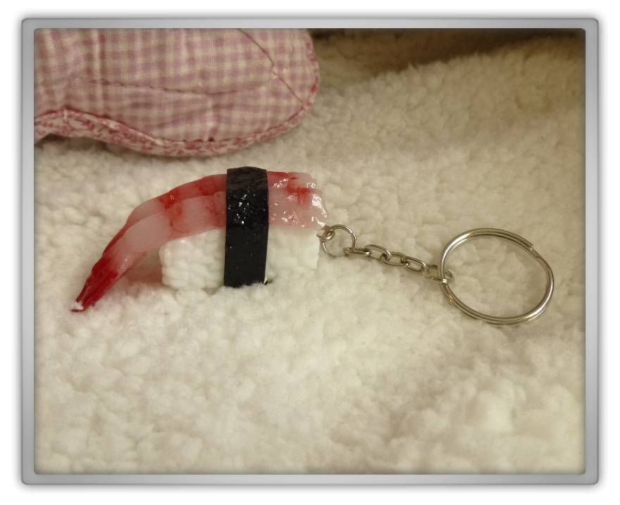 Blippo haul review shoplog sushi keychain shrimp 2 kawaii review