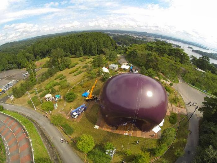 The world's first inflatable mobile concert hall designed to tour the northeastern areas of Japan devastated in the 2011 earthquake and tsunami will open next week.