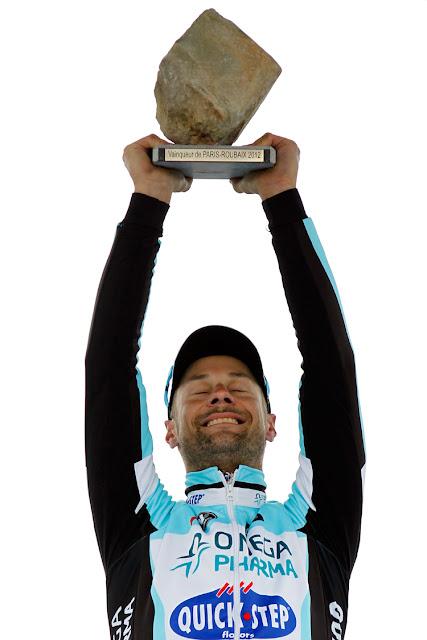 Tom Boonen Parigi-Roubaix 2012