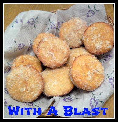 sugar donut muffins with a blast