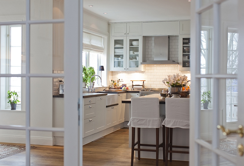 Decorando y renovando cocinas con encanto - Cocinas estilo nordico ...