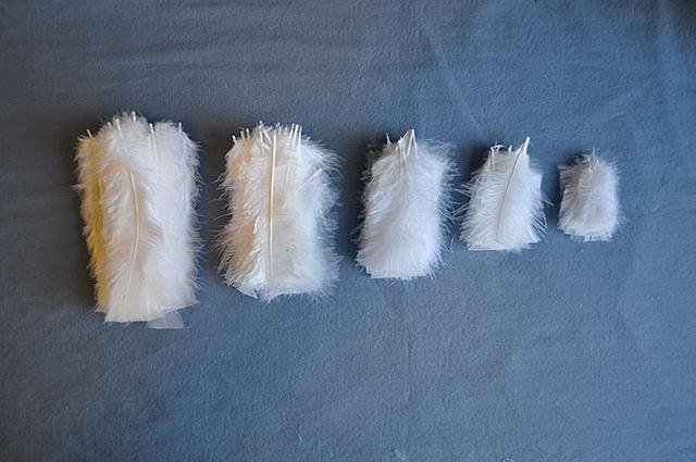Гирлянда из перьев своими руками