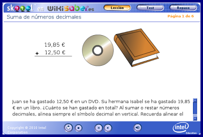 http://www.wikisaber.es/Contenidos/LObjects/summ_decimals/index.html