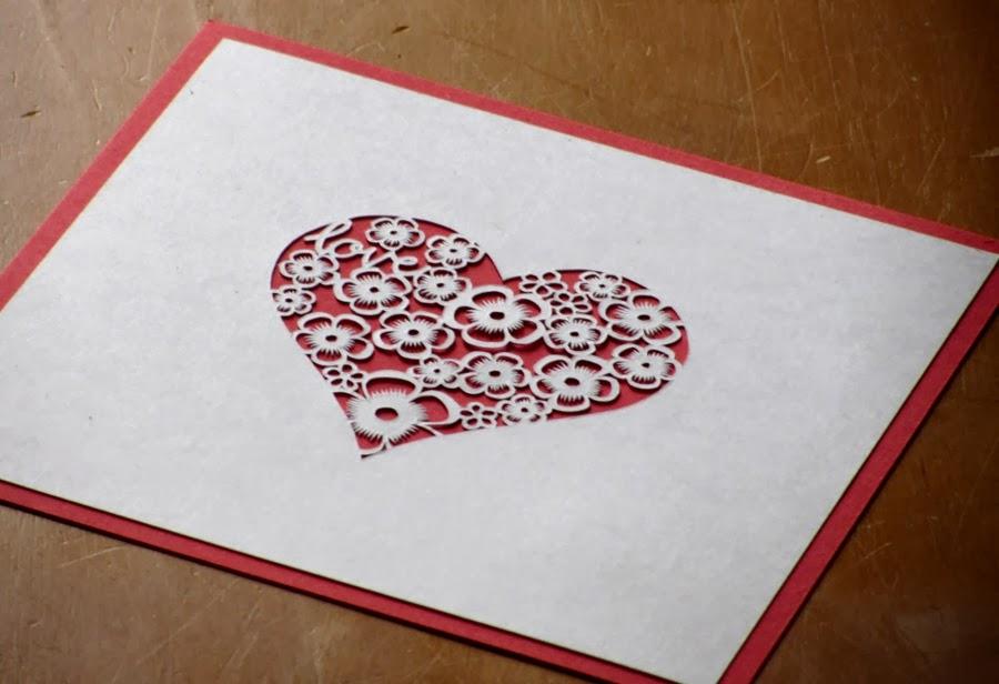 papercut heart