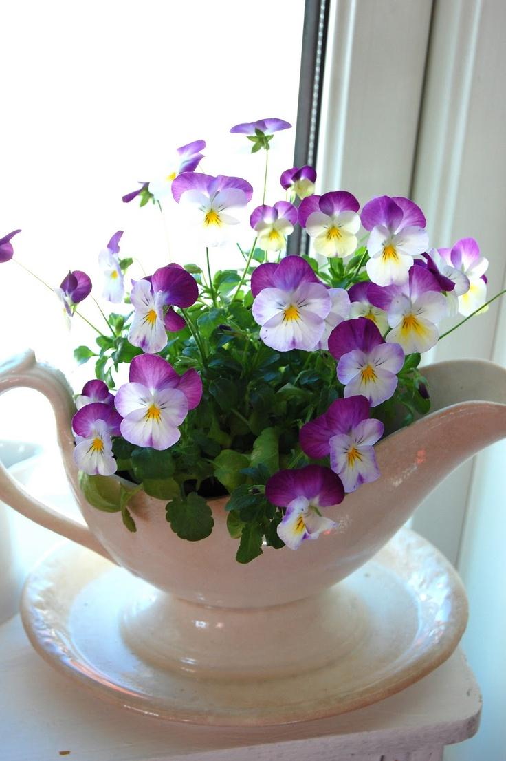 Inspirerande blommor & dekor: mars 2013