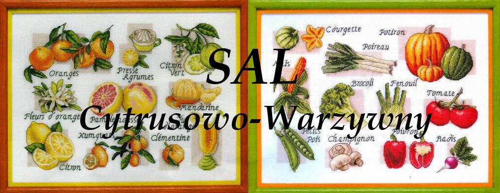 Sal cytrusowo- warzywny:)