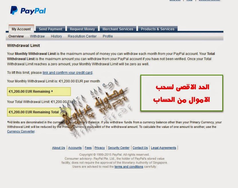 أخيرآ الباى بال يدعم استقبال الاموال من مصر