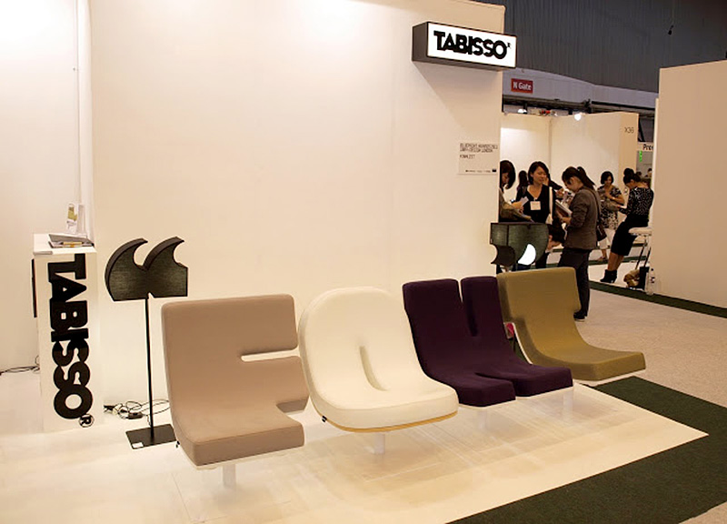 The TABISSO® Lounge Collection Consists Of Chairs Including All Letters And  Numbers, A Set Of Floor Lamps Covering More Than 20 Punctuation Marks, ...