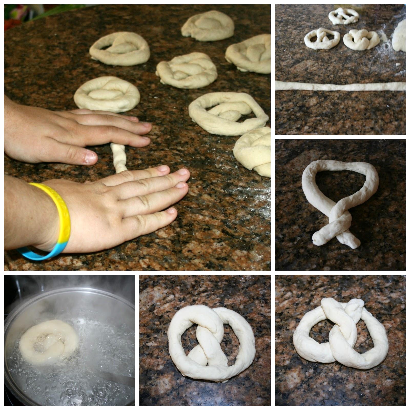 como hacer pretzel o bretzel