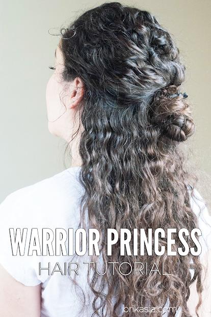 warrior princess hair tutorial