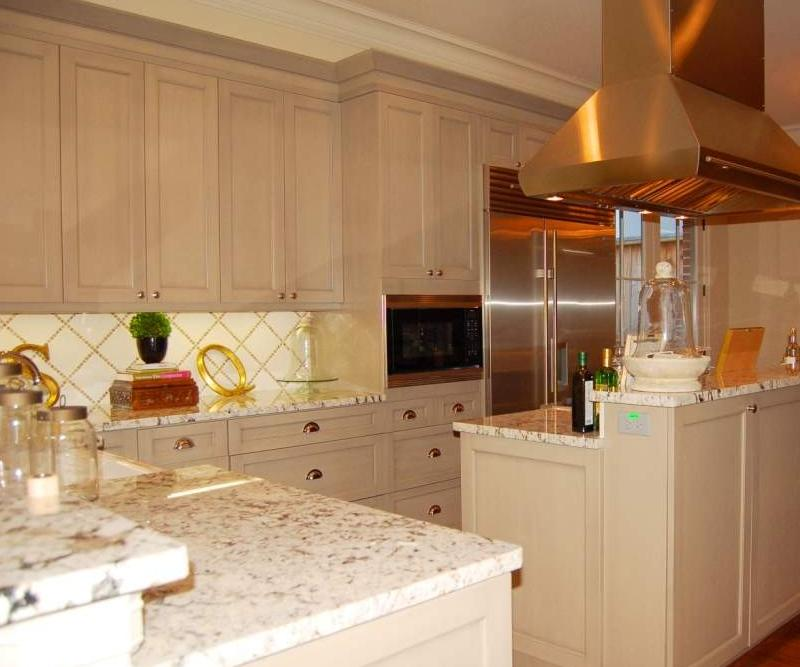 Tile Backsplash with Granite Countertops Design Gallery