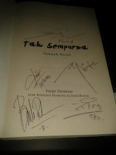 Novel Tak Sempurna Dengan TTD