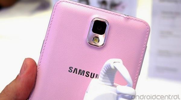 Galaxy Note 3 Warna Pink Bakal Hadir pada Desember