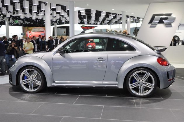 the concept of sporty vw beetle at frankfurt motor show 2011 fast spy photo car all upcoming. Black Bedroom Furniture Sets. Home Design Ideas