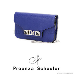 Princess Madeleine style Proenza Schouler PS11 clutch