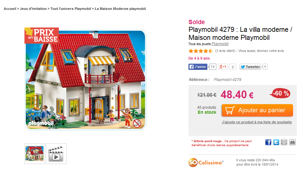 Beautiful Maison Moderne Playmobil Klerelo Photos - Payn.us - payn.us