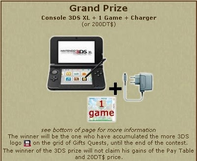 Grand Prize of Gift Quest