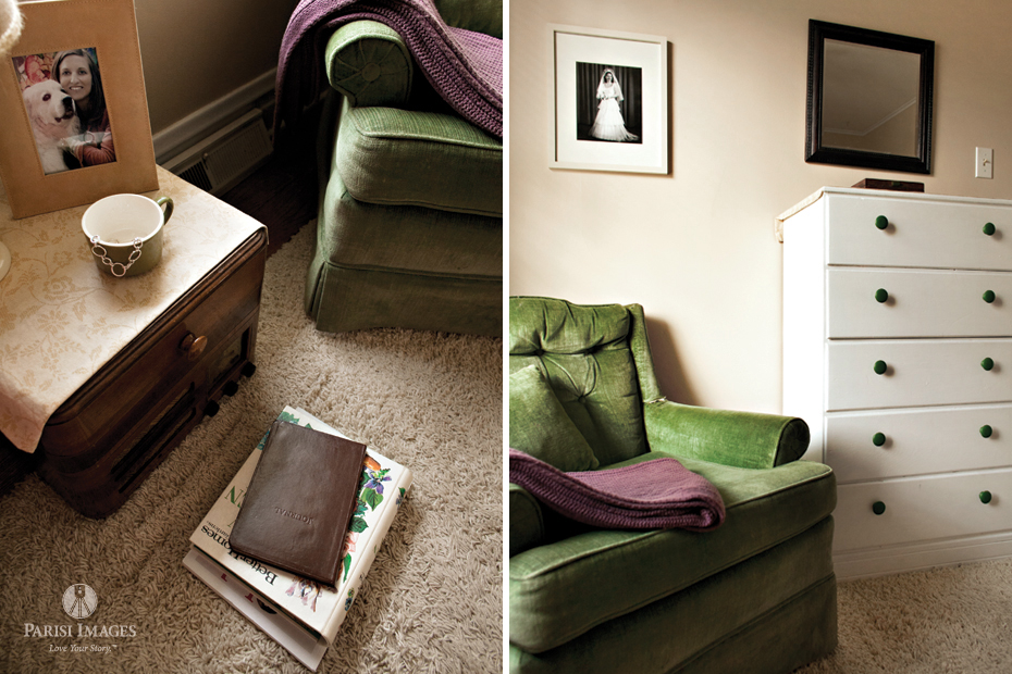 Vintage Green Chairs With Books And Purple Blanket This Beautiful Life Sarah Parisi