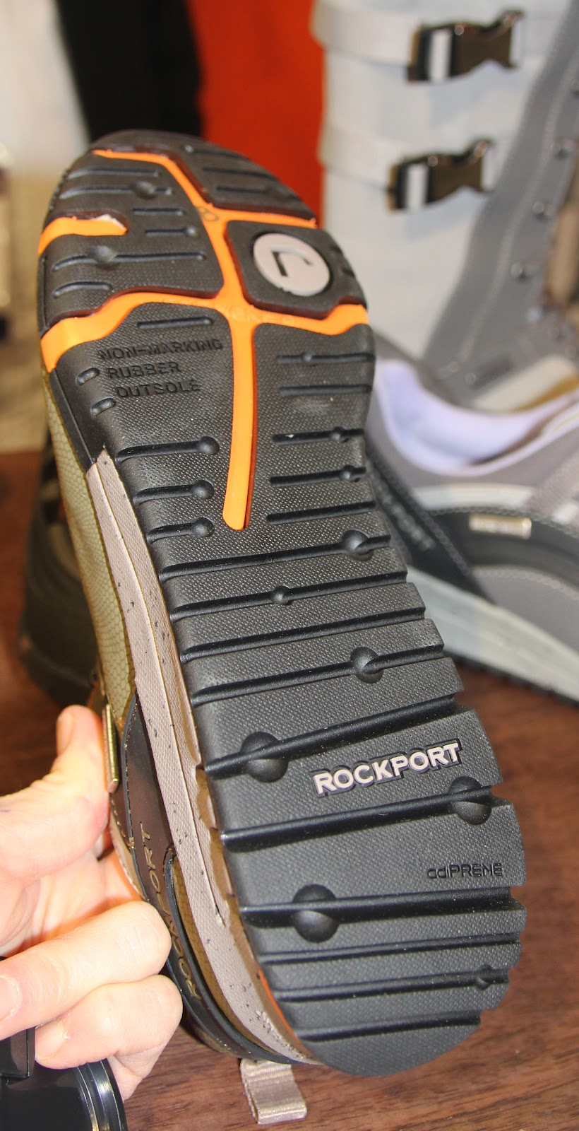 rubber outsole-great grip