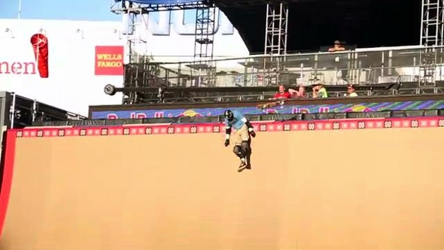 Bob Burnquist hurt in Big Air practice