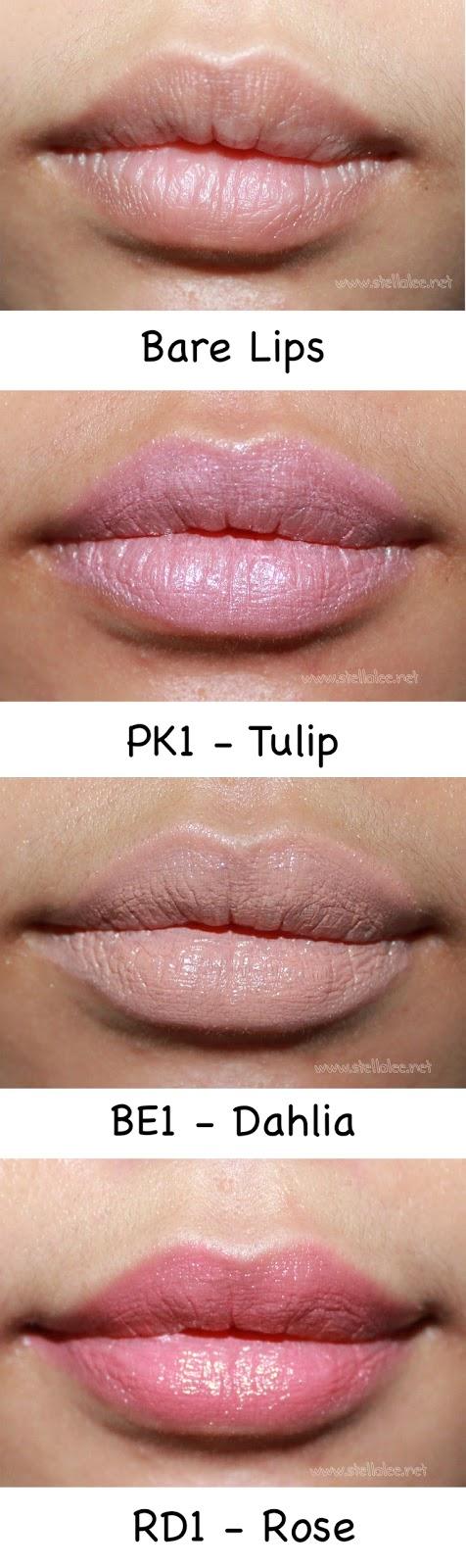 Brigitte Blooming Rouge Lipstick result