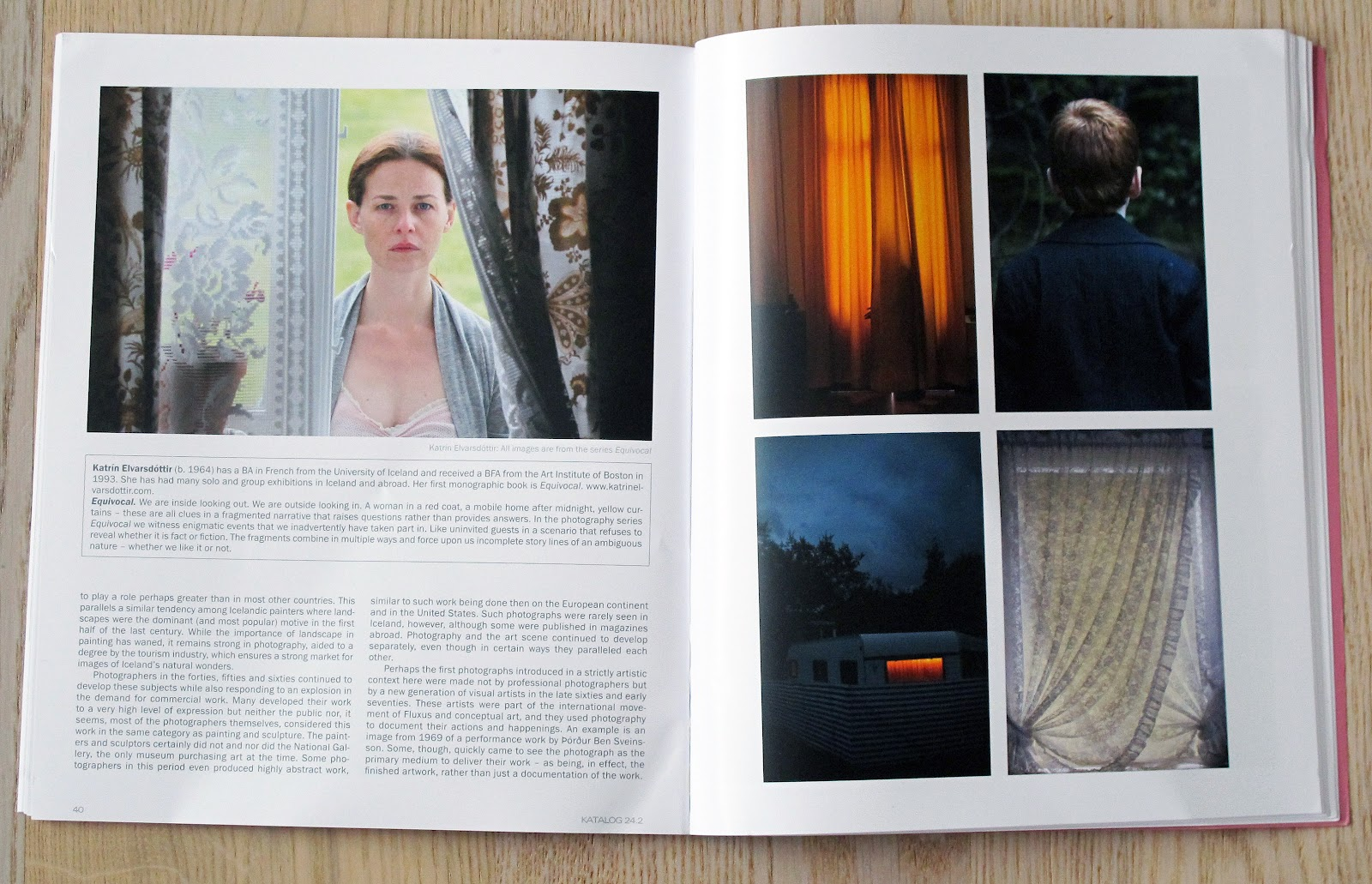 journal of photography and video published by museet for fotokunst odense editor in chief is jens friis curator of exhibitions at the museum as well